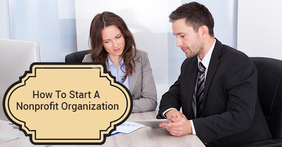 Start A Nonprofit Organization
