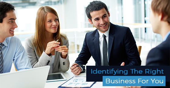 Identifying Right Business