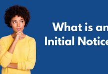 what is an initial notice