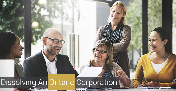 Dissolving An Ontario Corporation