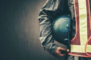 construction worker hard hat