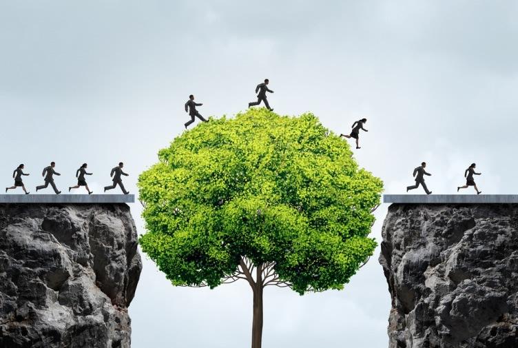 business success - leap of faith
