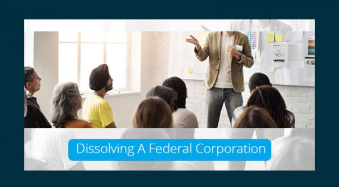 Dissolving A Federal Corporation