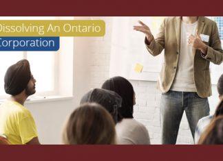 Dissolving An Ontario Corporation