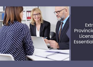 Extra Provincial License Essentials