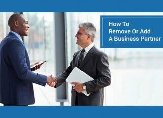 Remove or Add a Business Partner