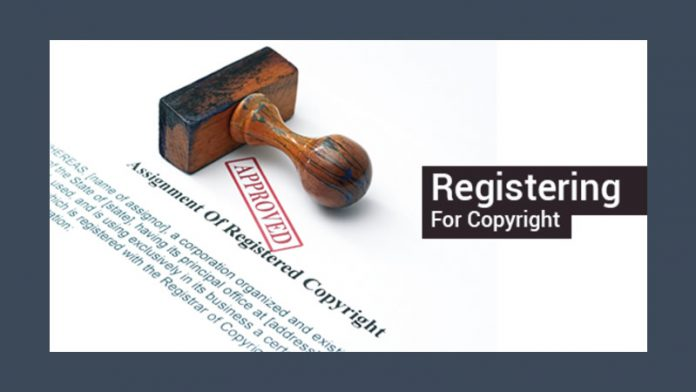 Registering For Copyright