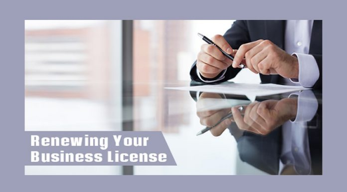 Renewing Your Business License