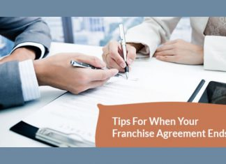 Tips for when your franchise agreement ends
