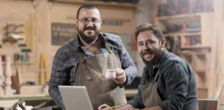 wood shop business owners