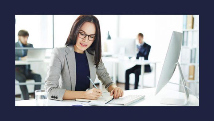 sole proprietorship businesswoman at work