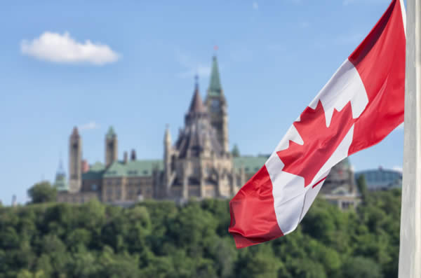 Canadian Flag - Incorporating in Canada