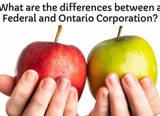 differences between ontario federal corporations