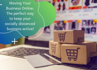 socially distancing your business move it online