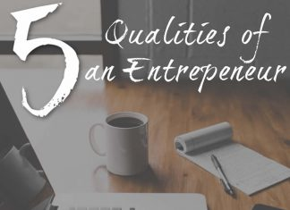 5 Qualities of an Entrepreneur