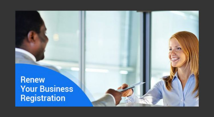 Renew Your Business Registration