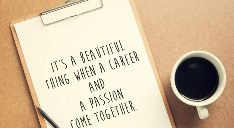 when career and passion unite
